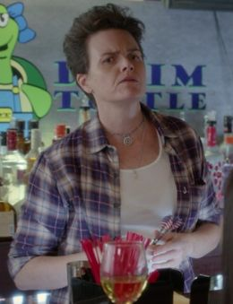 Faye - A bartender at the Denim Turtle, she is a lesbian feminist.