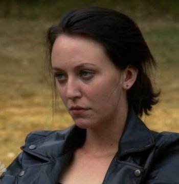 Annie - A goth girl, she has a crush on Natalie. After Natalie dies, she spends the rest of the show mourning her. Annie is shot by Russian BlackOps soldiers.