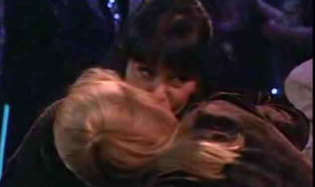 CJ and Abby Kiss