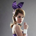 Alice - She is a Playboy Bunny in a marriage of convenience with Sean, a gay man.