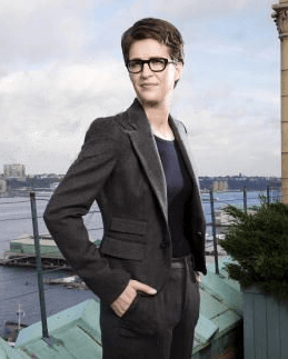 A picture of the character Rachel Maddow