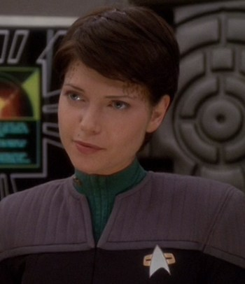 A picture of the character Ezri Dax