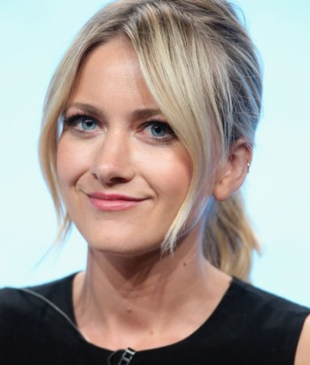 """Meredith Hagner - An American actress, best known for roles as Liberty Ciccone in the CBS daytime soap opera As the World Turns, as Amy Jordan in the TBS sitcom Men at Work, and as """"lovable narcissist"""" Portia in the TBS sitcom Search Party."""
