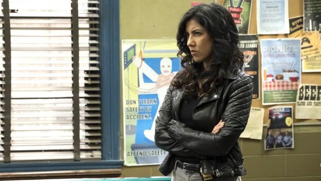 Bisexual Characters - Rosa Diaz played by Stephanie Beatriz on Brooklyn Nine-Nine
