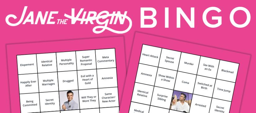 Jane the Virgin Bingo