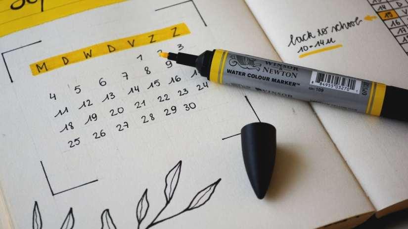 New Feature: Calendar