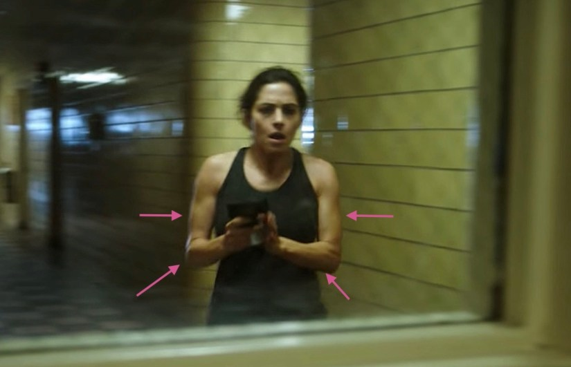 Person of Interest - Sarah Shahi's ARMS