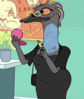 A picture of the character Esther Emu