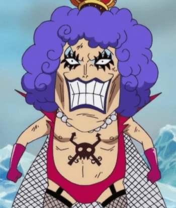 A picture of the character Emporio Ivankov - Years: 2010, 2011