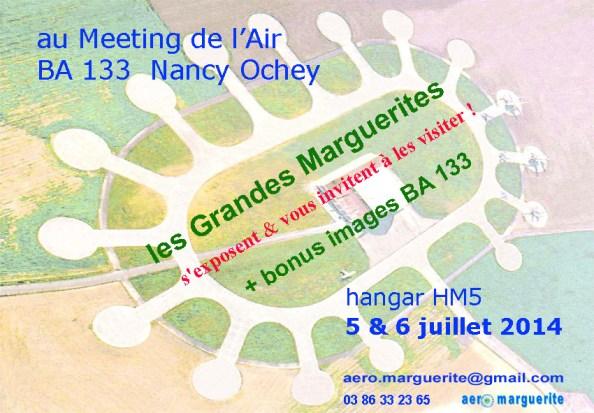 00-INVIT. à expo les Grandes Margueritesau Meeting Air 2014 Nancy Ochey