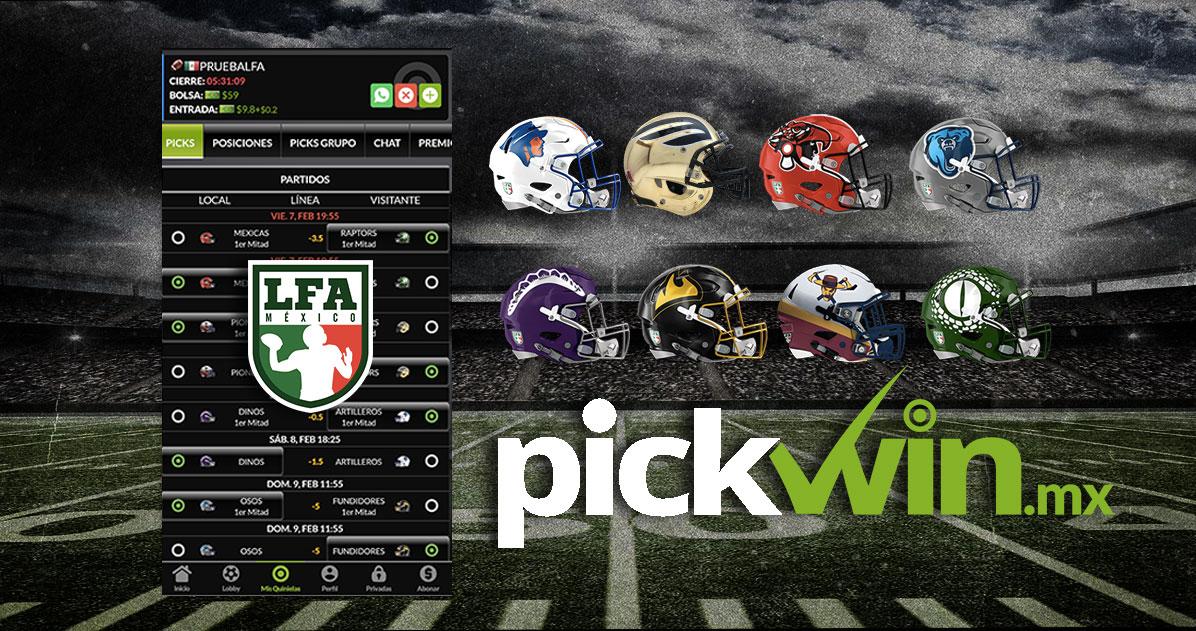 Alianza Pick Win y LFA