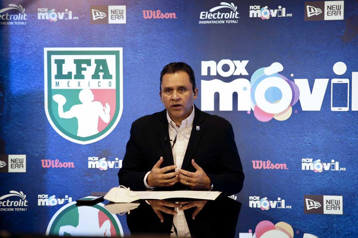 La Liga de Fútbol Americano Profesional anunció su 'kickoff' este martes