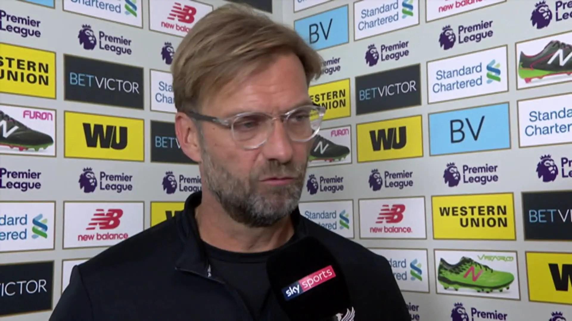Video: Jurgen Klopp speaks after Swansea loss