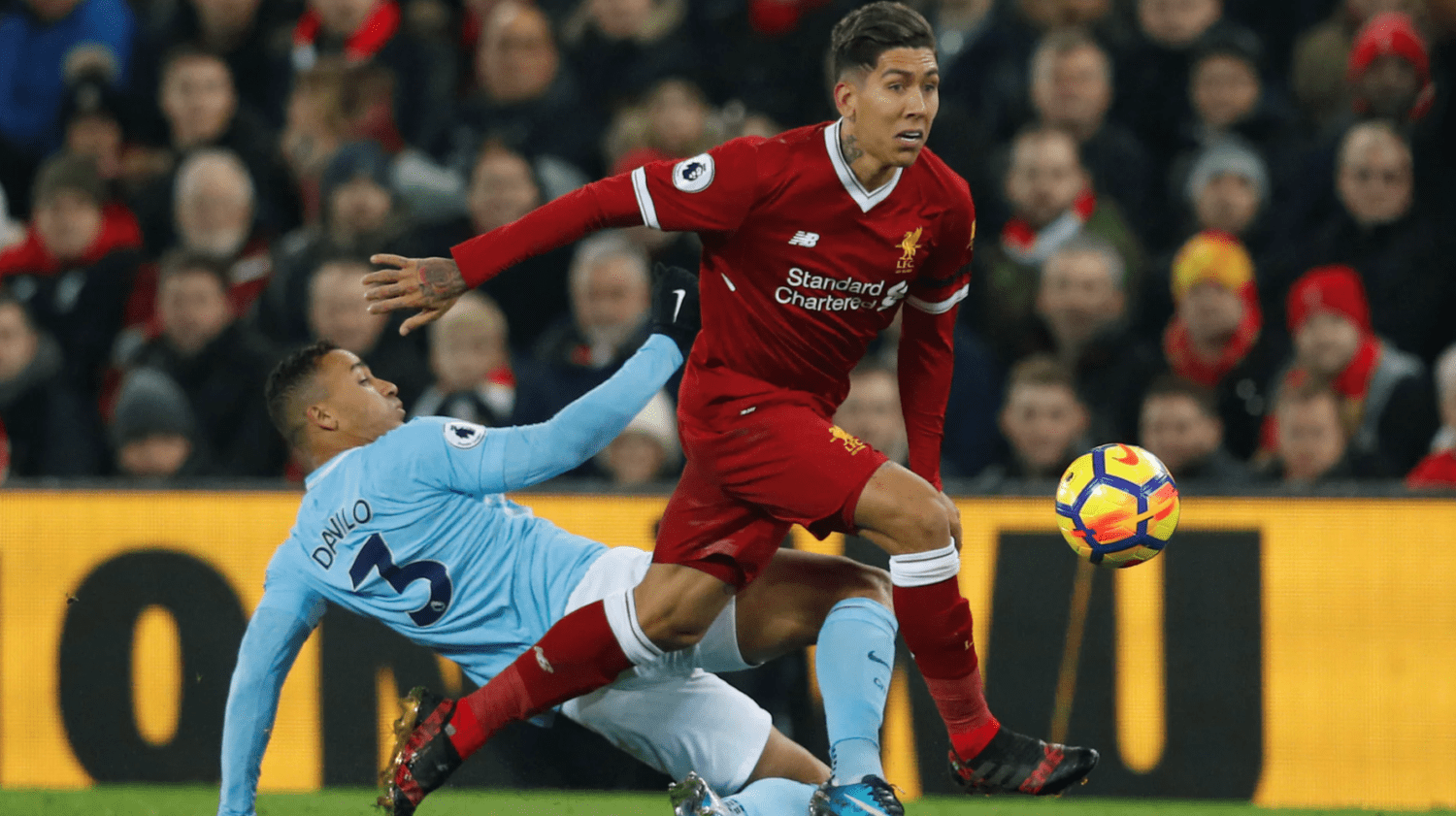 Video: Roberto Firmino's performance vs Manchester City