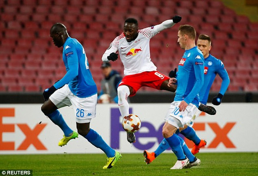 Watch: Naby Keita's performance in 3-1 win over Napoli