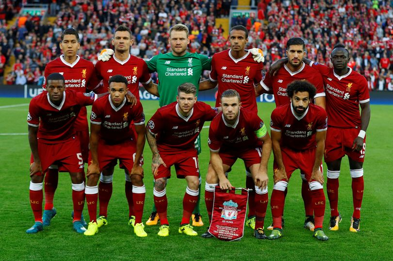 Liverpool name updated Champions League squad