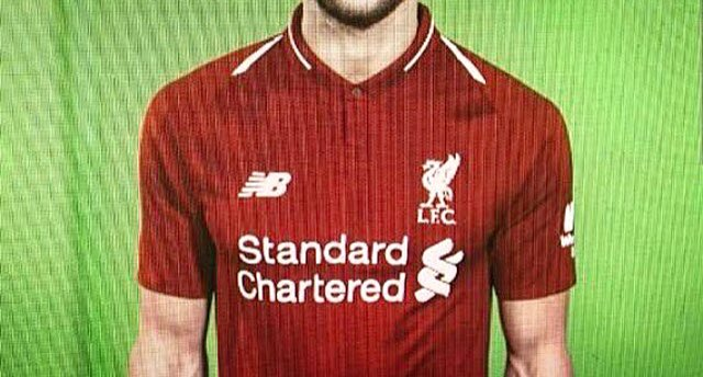 95cf3d175c3 Liverpool FC home kit 2018 19 to be released - Images leaked