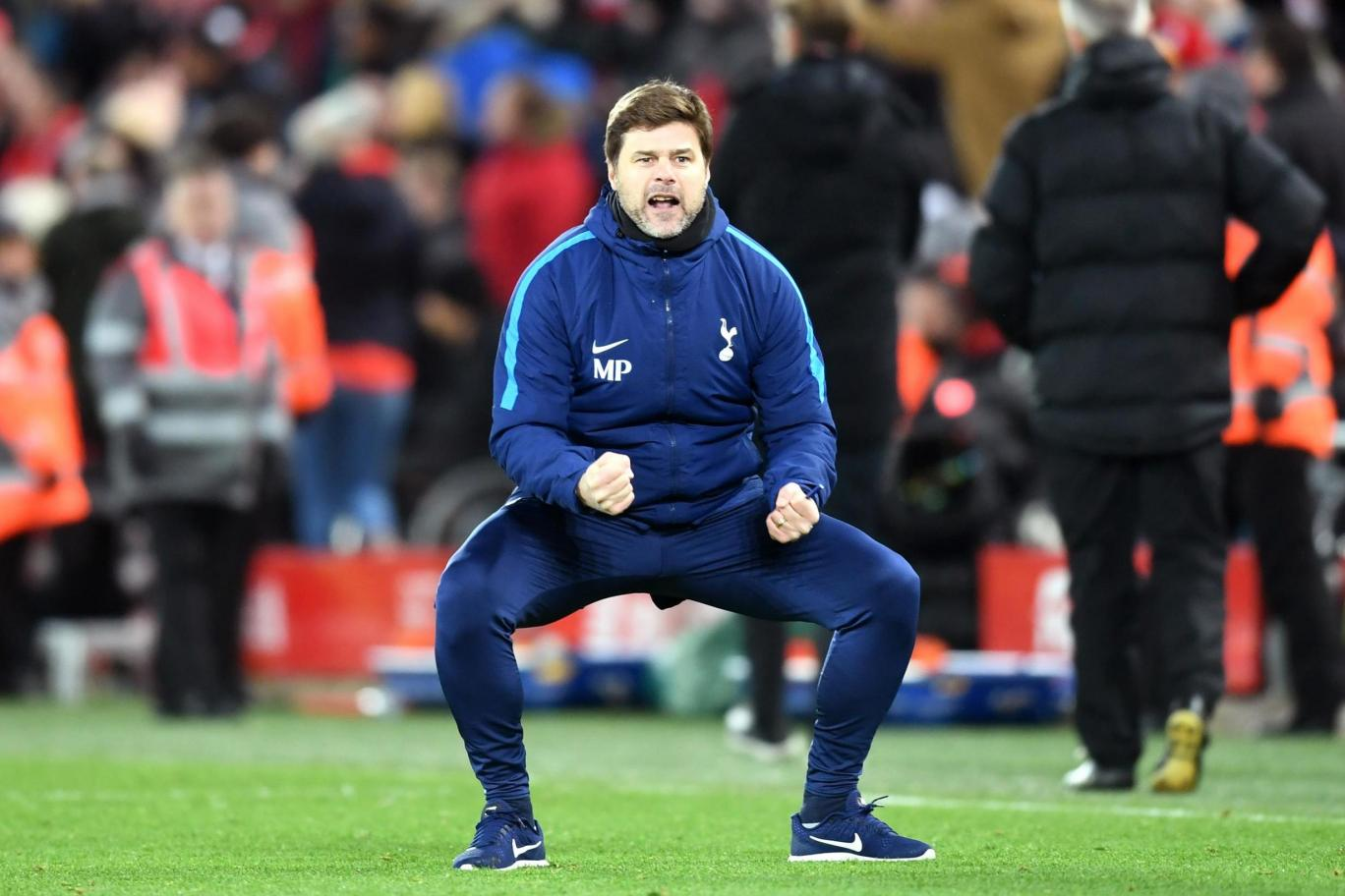 Pochettino says officials were 'amazing' and Liverpool were 'lucky' to get a point