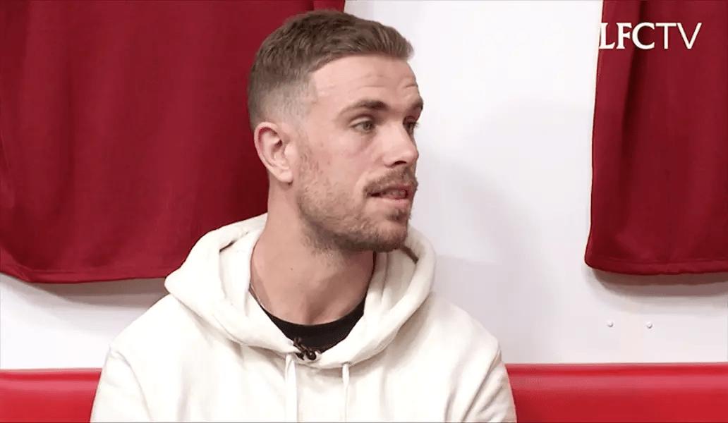 Video: Jordan Henderson alongside Whelan, McAteer and Jones on LFC Later
