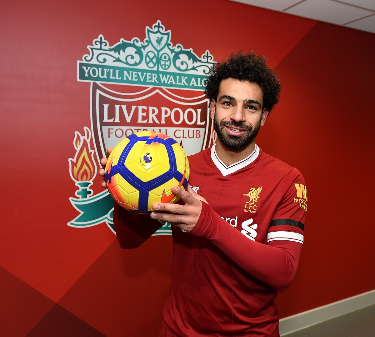 Mohamed Salah: Without my teammates I couldn't reach this number