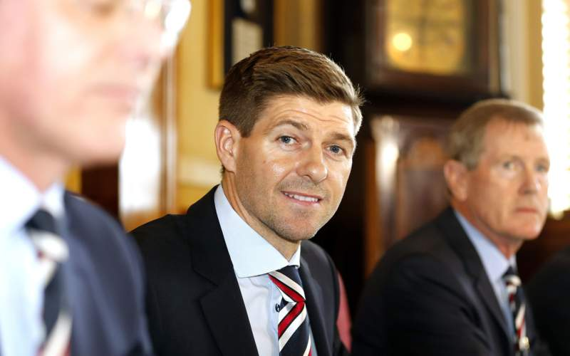 Watch Steven Gerrard's first press conference as Rangers manager