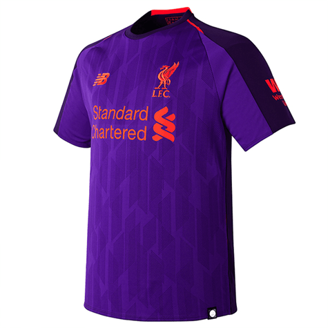 bbb149315d7 Liverpool FC s 2018 19 away   third kit mistakenly released by New ...
