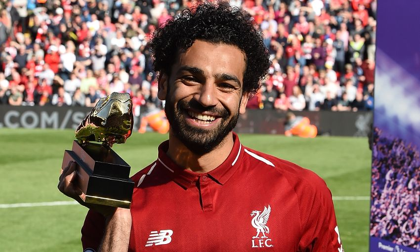 Liverpool forward Mohamed Salah named Premier League Player of the Season