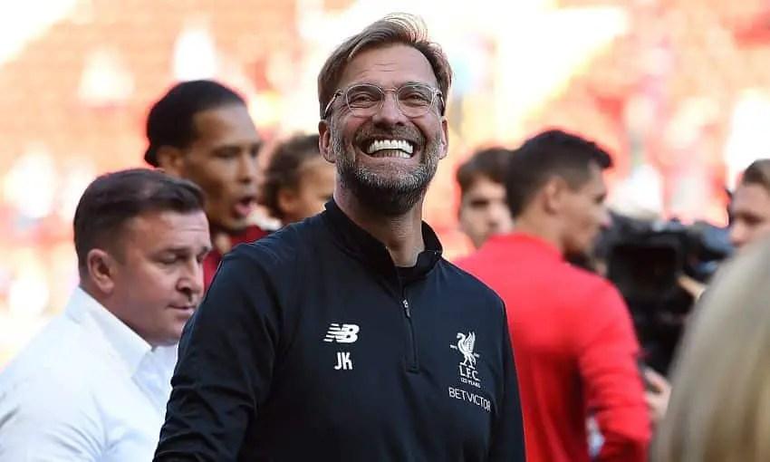 Watch: Jurgen Klopp hails 'nearly perfect season' for Liverpool