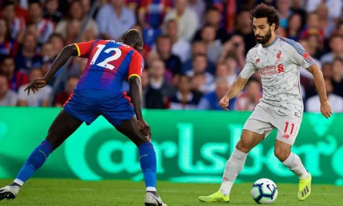 Crystal Palace 0-1 Liverpool