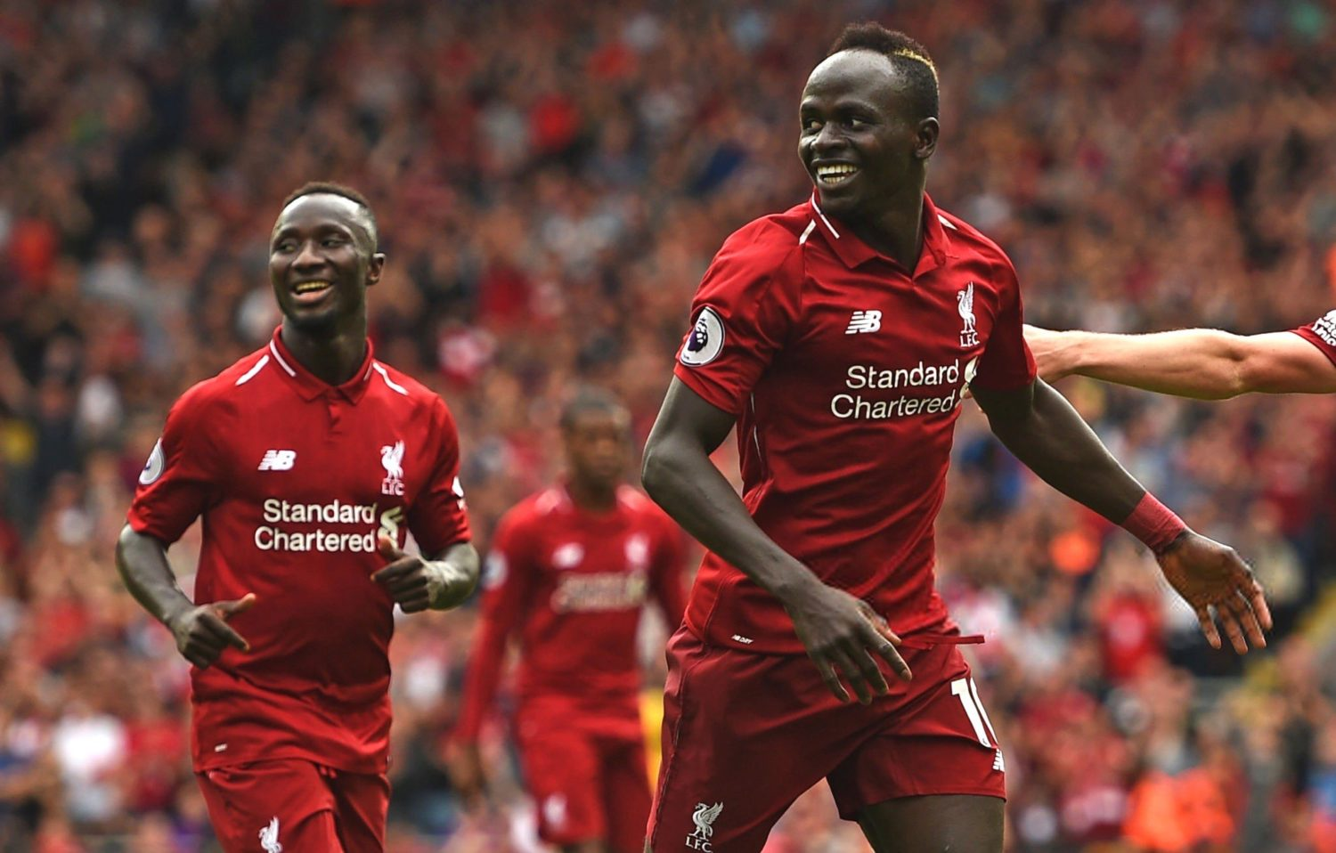 2 for 1? Kid brother of Naby Keita training with Liverpool