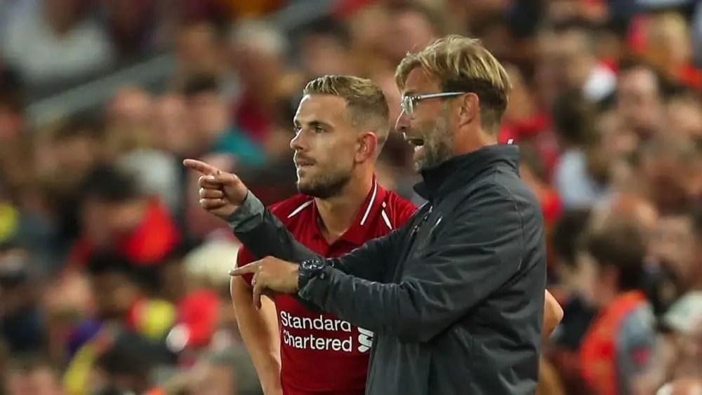 Jurgen Klopp offers spiky response to questions over Reds' midfield