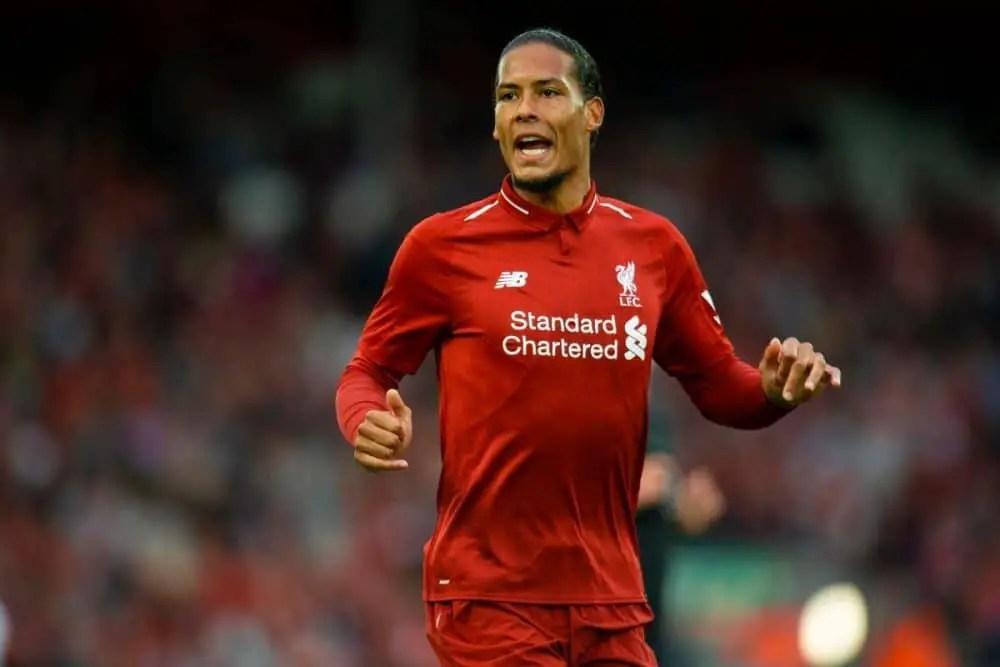 Virgil van Dijk sets his sights on repeating Merseyside derby heroics