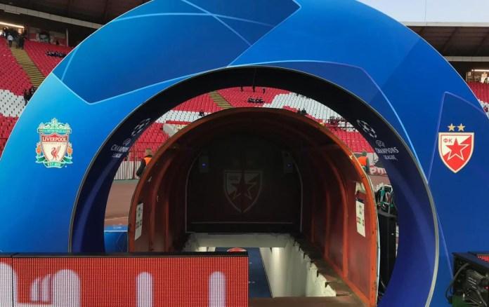 Red Star Belgrade vs Liverpool Highlights