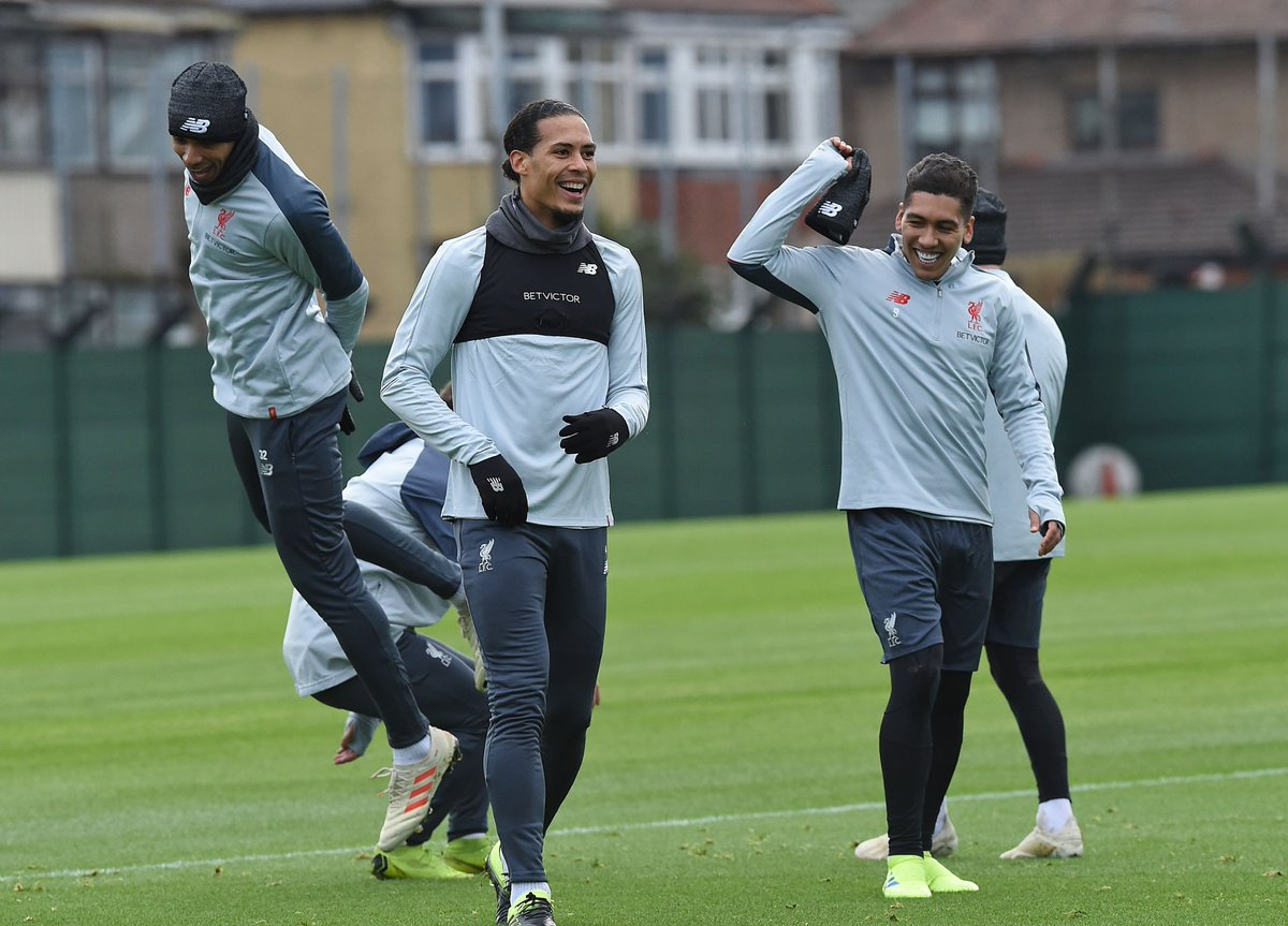 Photos: All smiles in training as attention turns to Crystal Palace