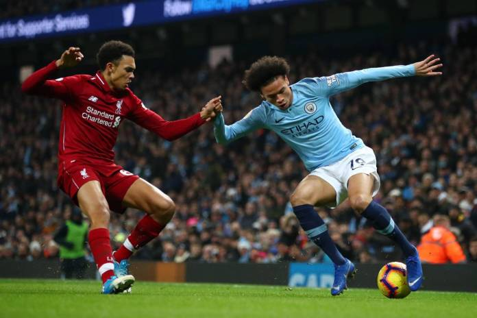 Man City vs Liverpool highlights