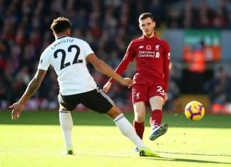 Liverpool FC & Fulham FC