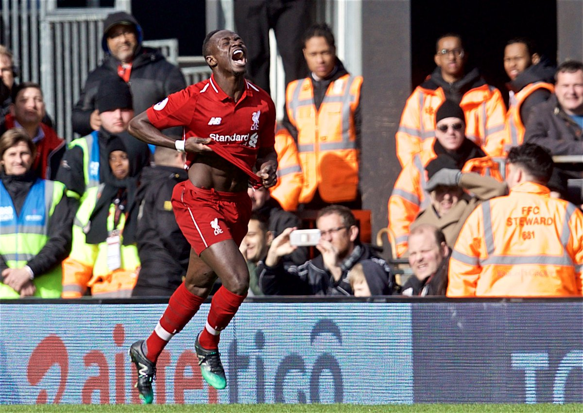 Video: Sadio Mane scores excellent team goal as Reds lead at Craven Cottage