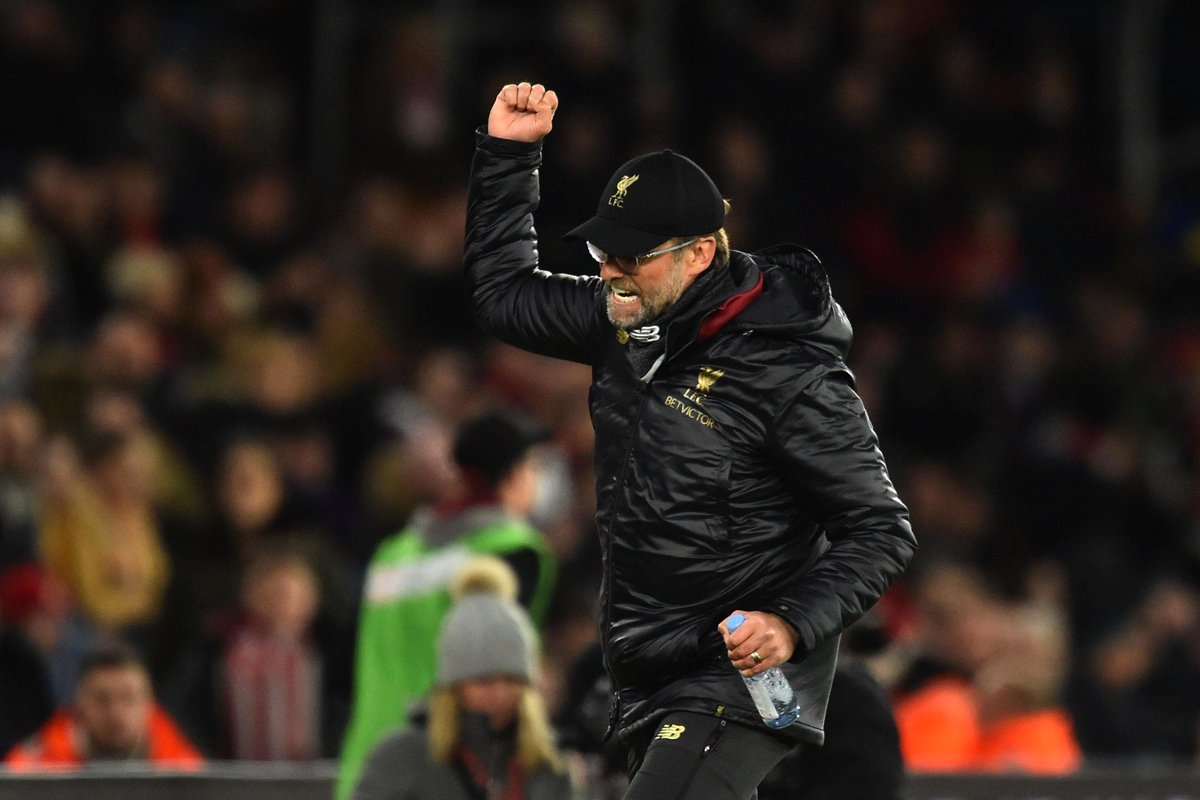 "Jurgen Klopp ""really proud"" of his Liverpool side and fends off City comparisons"