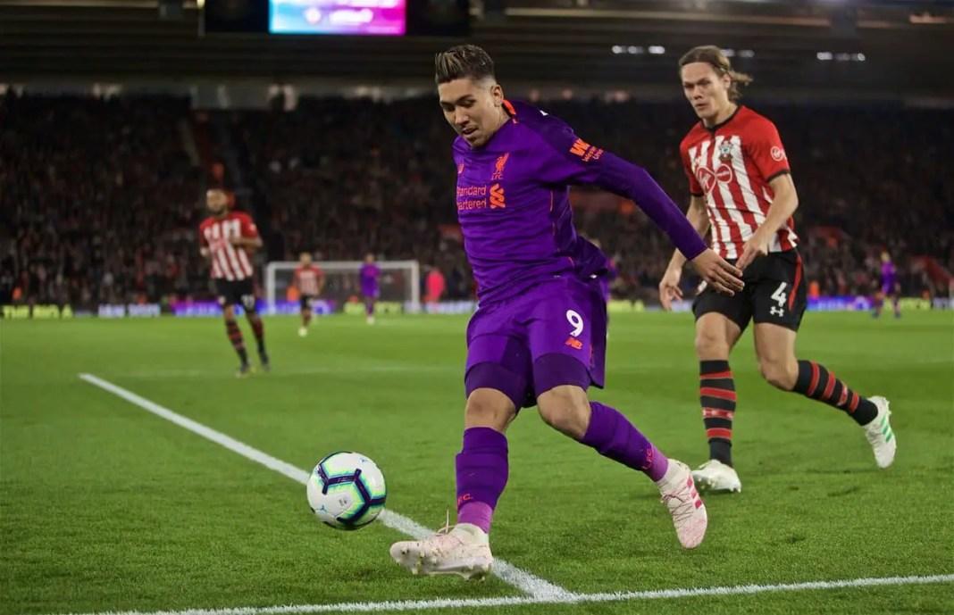 Southampton vs Liverpool Stream