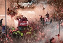 Liverpool Victory Parade Photos
