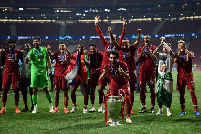 6e1cabd04 Stunning photos from Madrid as Liverpool lift Champions League ...