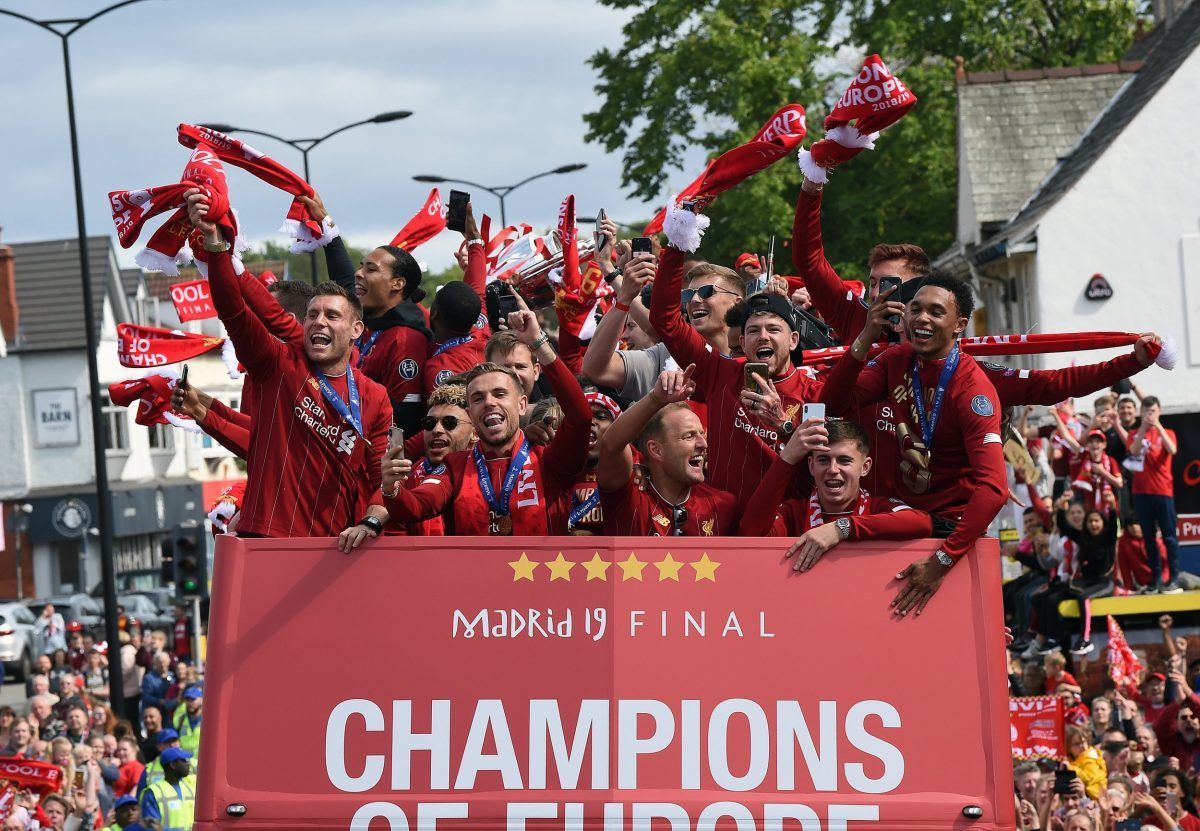 Liverpool's Champions League trophy parade: Watch in full as heroes return home