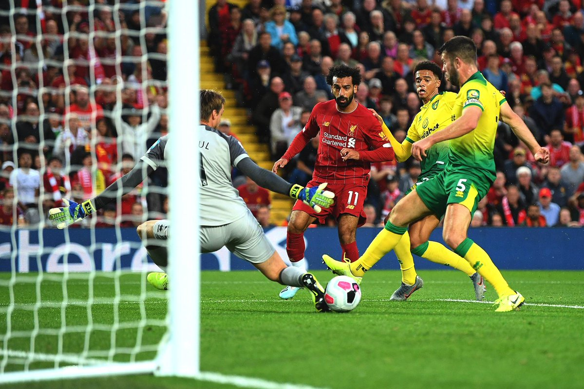 Liverpool 4-1 Norwich City – As it happened