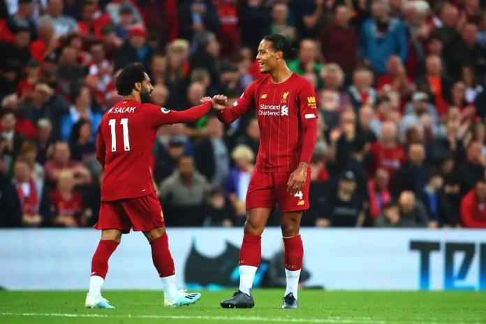 Liverpool vs Norwich Goals