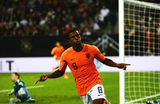 Wijnaldum goal vs Germany