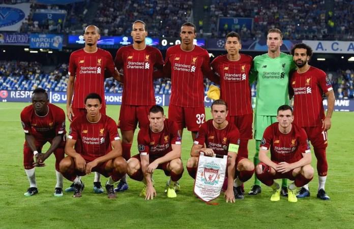 Napoli vs Liverpool Goals