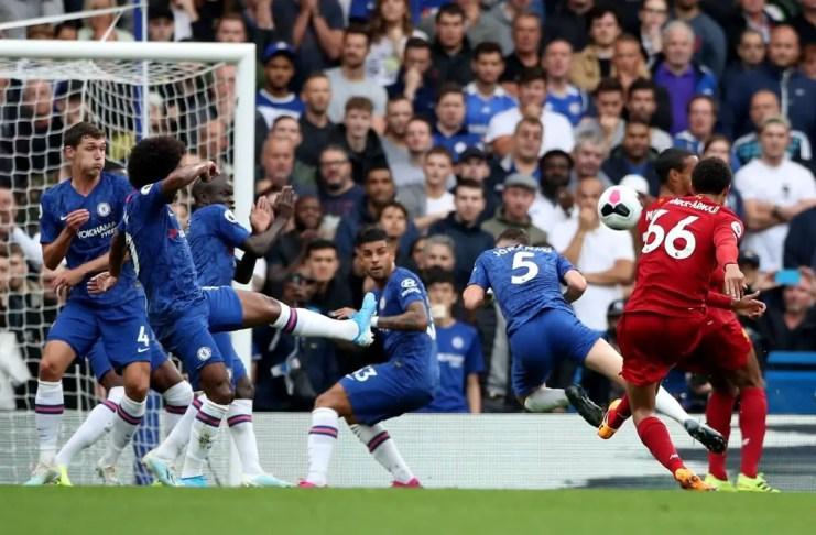 Trent Goal vs Chelsea