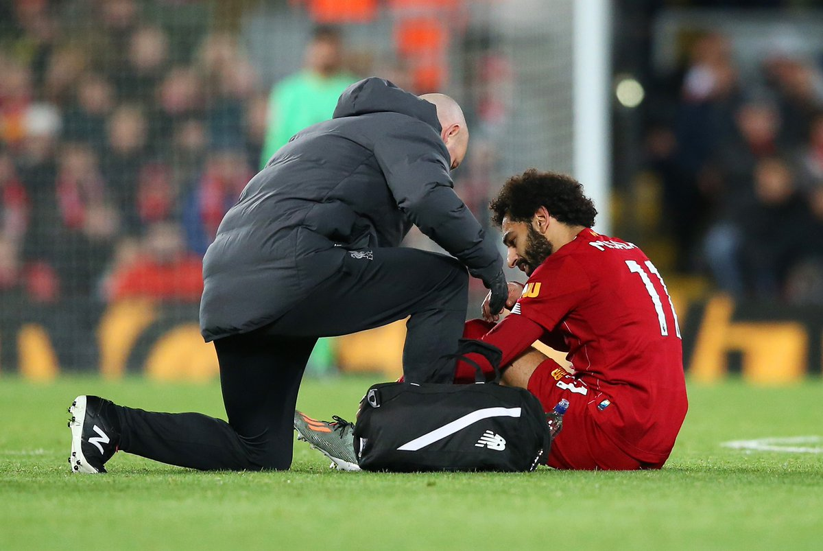 "Liverpool ""have to be sensible"" over Mohamed Salah's ongoing injury concerns"