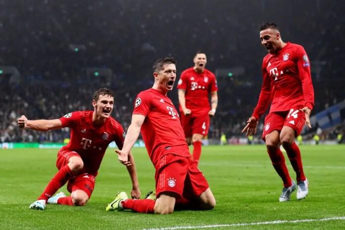 Tottenham vs Bayern Highlights