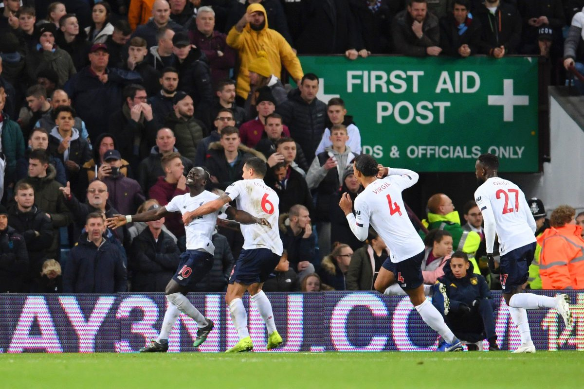 Aston Villa 1-2 Liverpool – Highlights and Goals (Video)